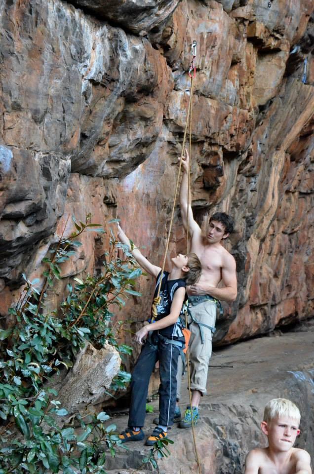 Tristan setting off on Shelob (24)