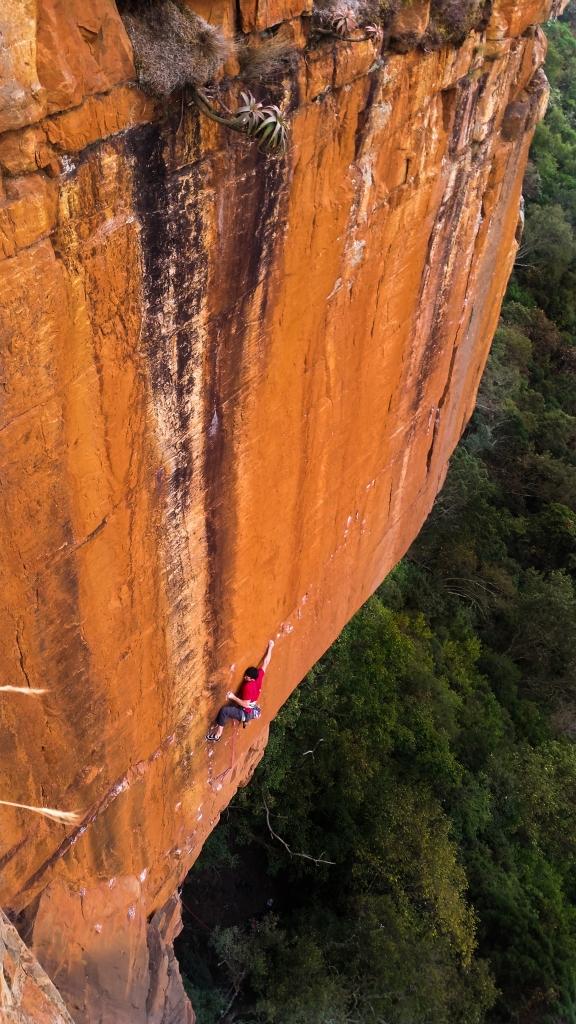 Climbing the crux