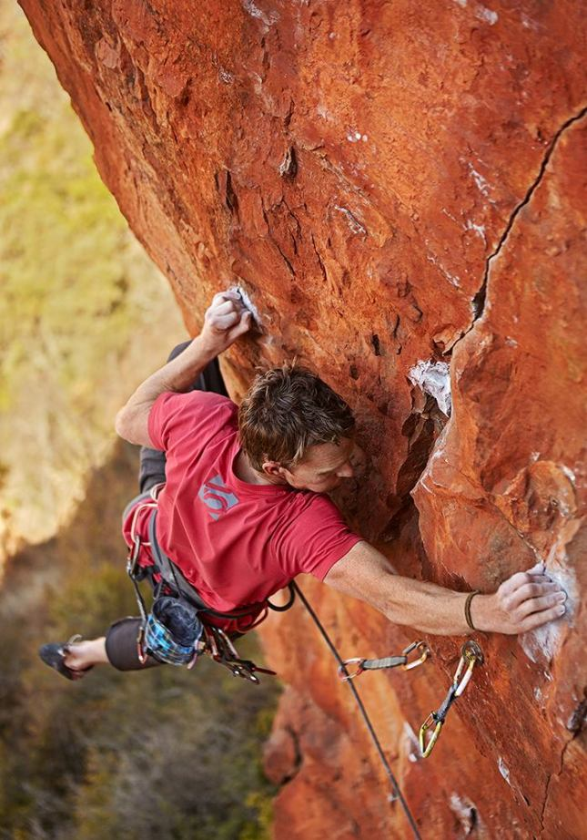 Andrew Pedley on Shear Force (8c)