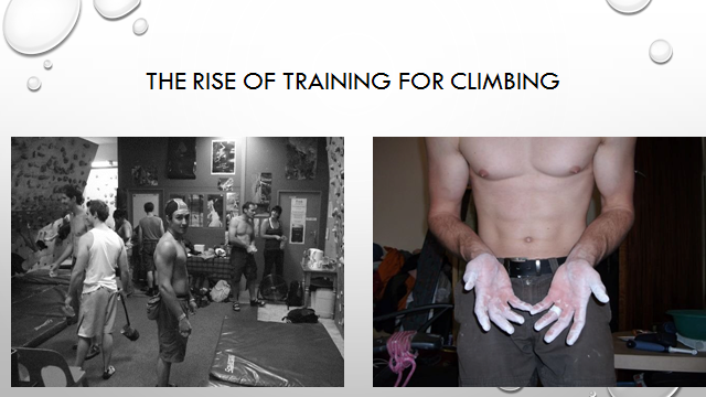 the rise of training