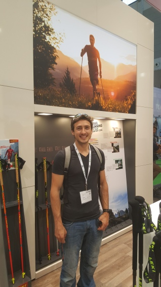 The Leki stand at the Outdoor