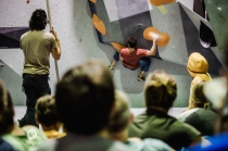 Boulder #3, Adam Ondra's creation. All I can say is HARD